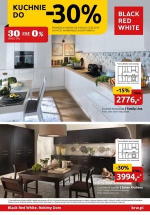 Gazetka promocyjna Black Red White - Kuchnie do -30%