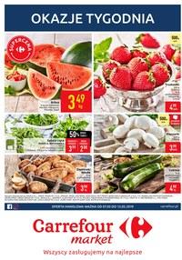 Gazetka promocyjna Carrefour Market - Gazetka promocyjna - Gdańska - ważna do 13-05-2019