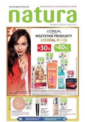 Gazetka promocyjna Drogerie Natura - Gazetka promocyjna