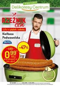 Gazetka promocyjna Delikatesy Centrum - Rzeźnik cen - ważna do 15-05-2019