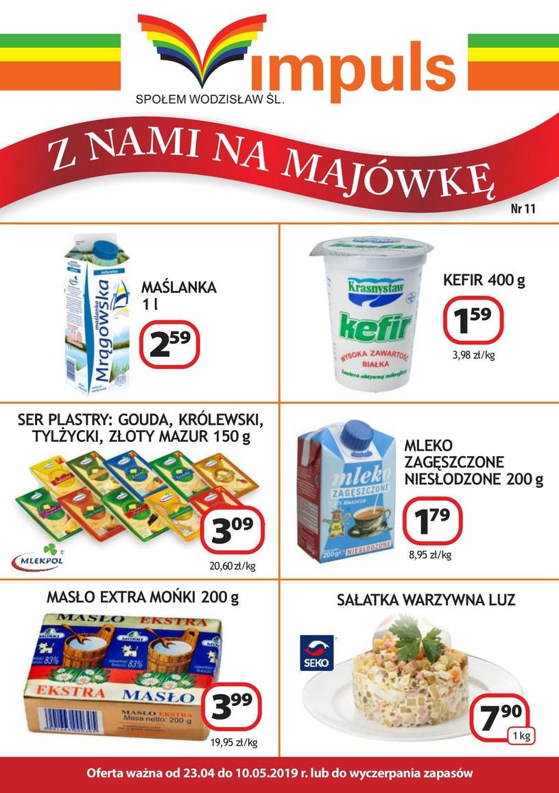 Gazetka promocyjna PSS Społem Wodzisław - wygasła 75 dni temu