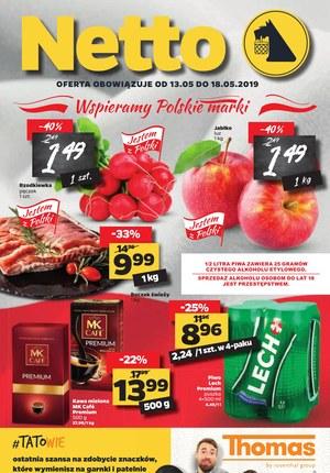 Gazetka promocyjna Netto - Wspieramy polskie marki