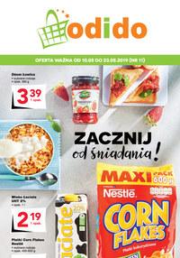 Gazetka promocyjna Odido - Zacznij od śniadania! - ważna do 23-05-2019