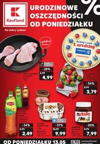 Gazetka promocyjna Kaufland - Urodzinowe oszczędności  - ważna do 15-05-2019