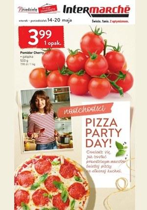 Gazetka promocyjna Intermarche Super - Pizza Party Day