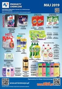 Gazetka promocyjna At - Artykuły chemiczne - ważna do 31-05-2019
