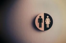 Toalety dla klientów w Biedronce
