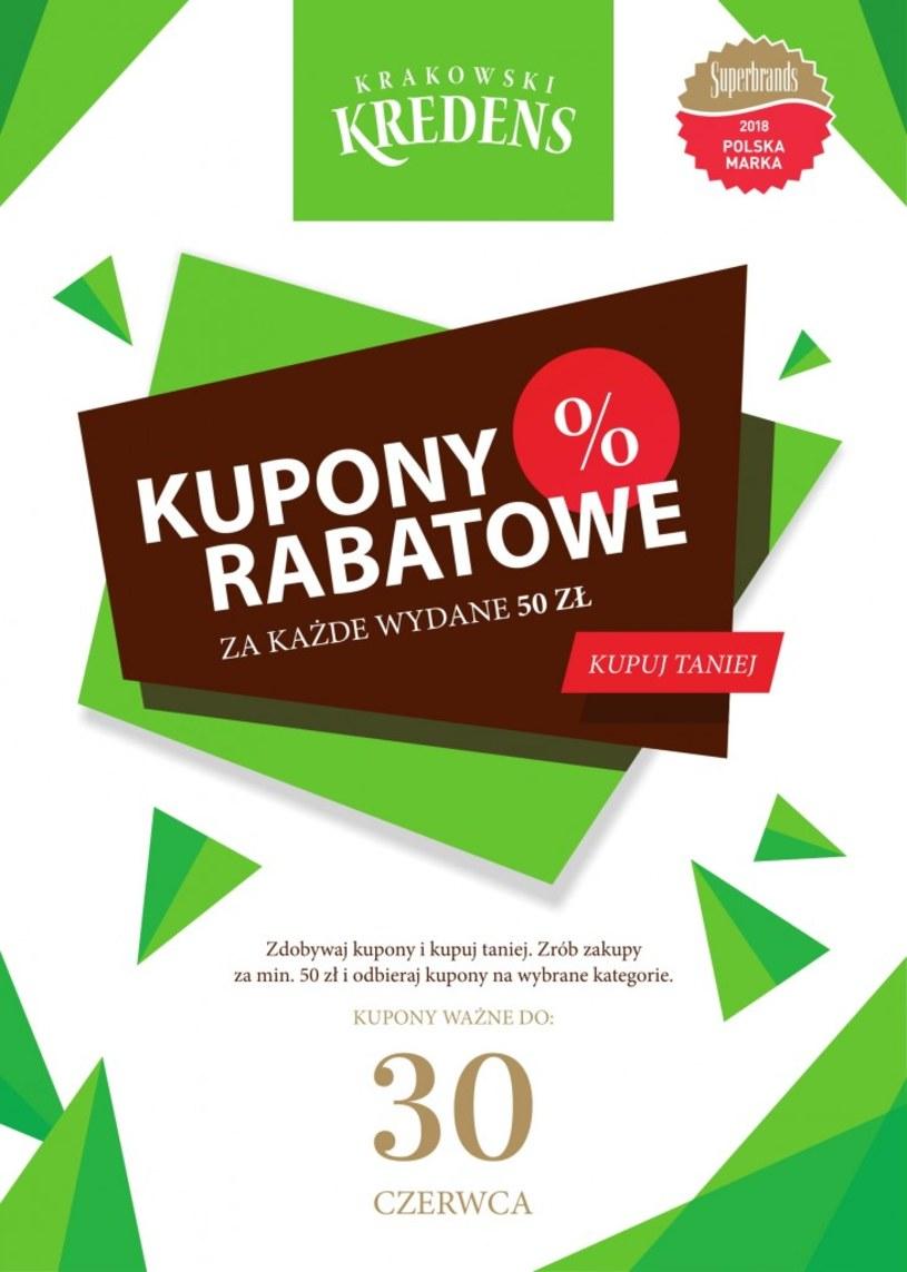 Gazetka promocyjna Krakowski Kredens - ważna od 10. 05. 2019 do 30. 06. 2019