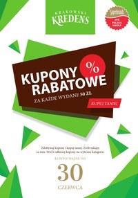 Gazetka promocyjna Krakowski Kredens - Kupony rabatowe - ważna do 30-06-2019