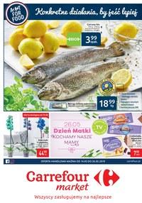 Gazetka promocyjna Carrefour Market - Gazetka promocyjna - ważna do 26-05-2019