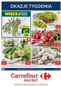 Gazetka promocyjna Carrefour Market, ważna od 14.05.2019 do 20.05.2019.