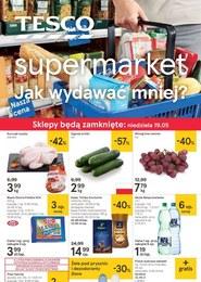 Gazetka promocyjna Tesco Supermarket, ważna od 16.05.2019 do 22.05.2019.