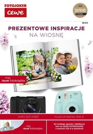 Gazetka promocyjna Fotojoker - Prezentowe inspiracje na wiosnę