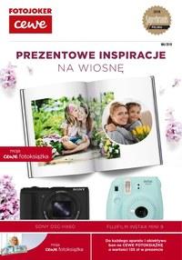 Gazetka promocyjna Fotojoker - Prezentowe inspiracje na wiosnę - ważna do 31-05-2019