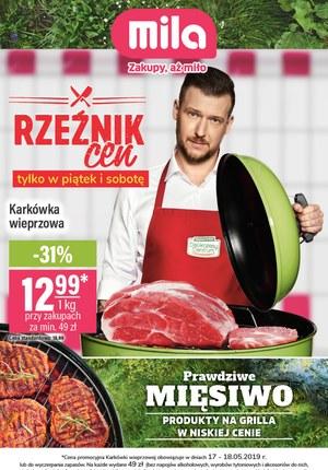Gazetka promocyjna MILA, ważna od 15.05.2019 do 22.05.2019.
