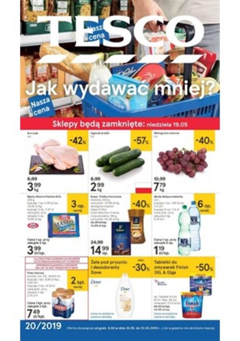 Gazetka promocyjna Tesco Hipermarket - ważna od 16. 05. 2019 do 22. 05. 2019