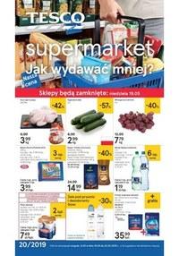 Gazetka promocyjna Tesco Supermarket - Jak wydawać mniej? - supermarket  - ważna do 22-05-2019