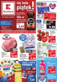 Gazetka promocyjna Kaufland - Nie lada piątek! - ważna do 22-05-2019