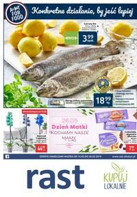 Gazetka promocyjna Rast - Konkretne działania, by jeść lepiej - ważna do 26-05-2019