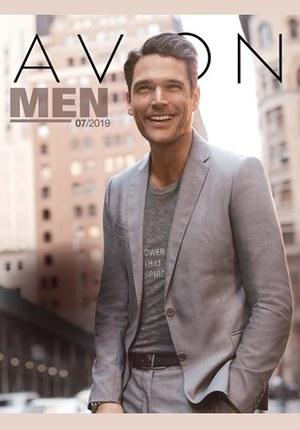 Gazetka promocyjna Avon - Katalog Men