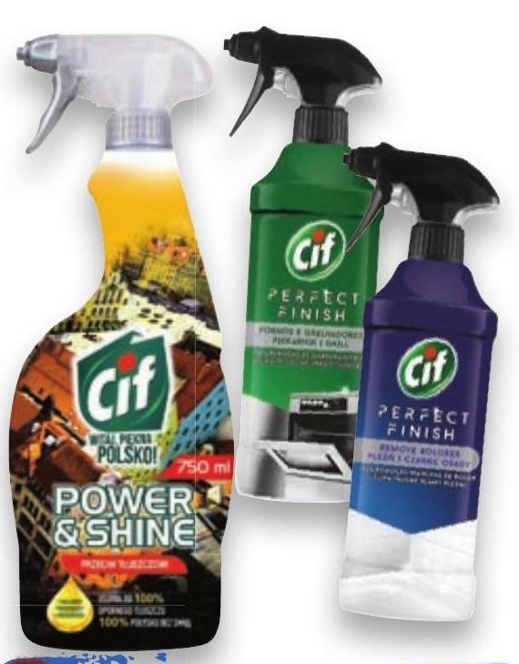 Spray do czyszczenia Cif niska cena