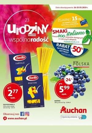 Gazetka promocyjna Auchan - 23 Urodziny Auchan