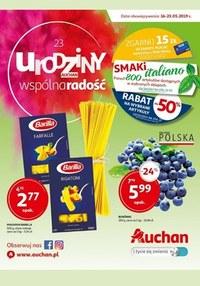 Gazetka promocyjna Auchan - 23 Urodziny Auchan - ważna do 23-05-2019