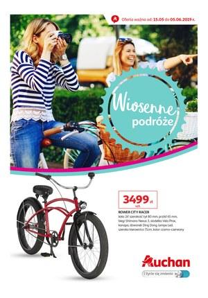 Gazetka promocyjna Auchan - Wiosenne podróże