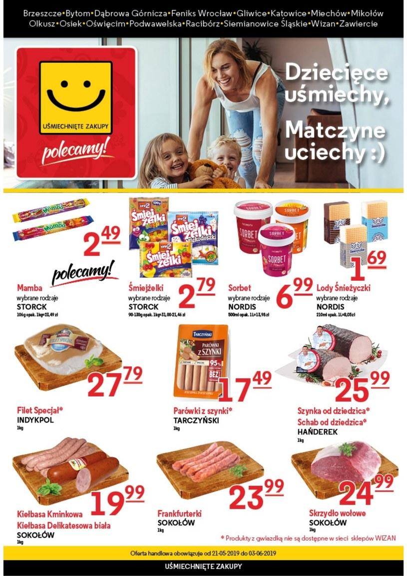 Gazetka promocyjna Uśmiechnięte zakupy - ważna od 21. 05. 2019 do 03. 06. 2019