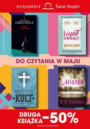 Gazetka promocyjna Księgarnie Świat Książki, ważna od 15.05.2019 do 18.06.2019.