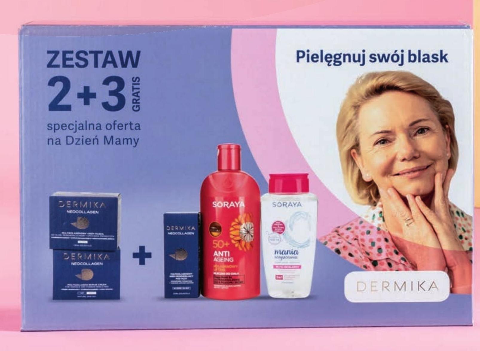 Zestaw kosmetyków niska cena