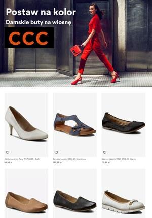 Gazetka promocyjna CCC - Postaw na kolor