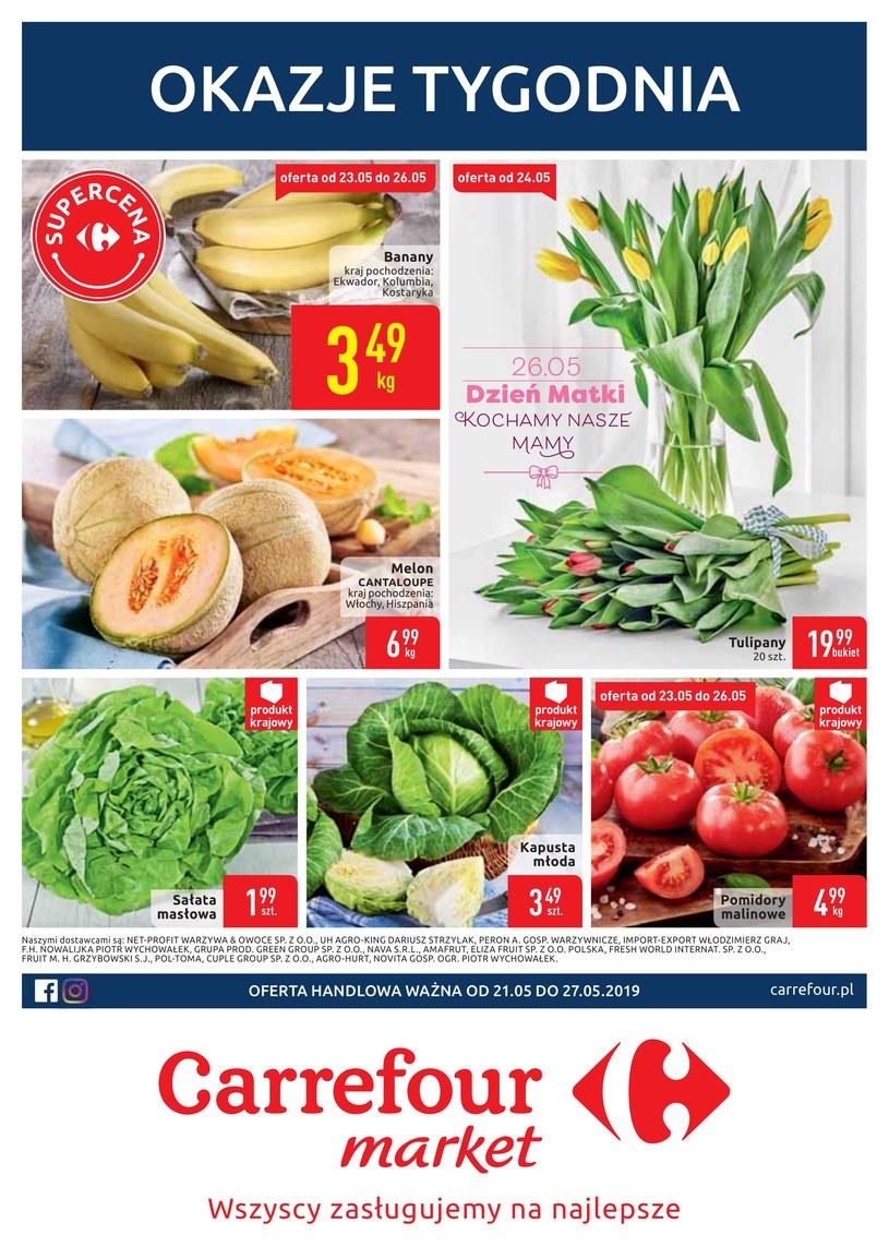Gazetka promocyjna Carrefour Market - ważna od 20. 05. 2019 do 27. 05. 2019