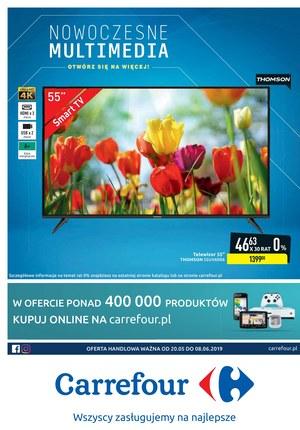 Gazetka promocyjna Carrefour, ważna od 20.05.2019 do 08.06.2019.