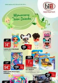 Gazetka promocyjna bi1 - Wymarzony Dzień Dziecka - ważna do 03-06-2019