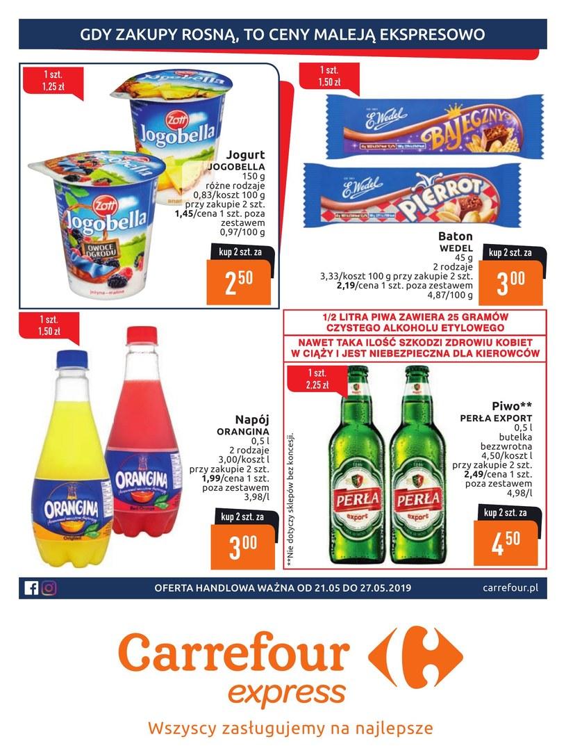 Gazetka promocyjna Carrefour Express - ważna od 21. 05. 2019 do 27. 05. 2019