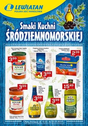 Gazetka promocyjna Lewiatan, ważna od 16.05.2019 do 22.05.2019.