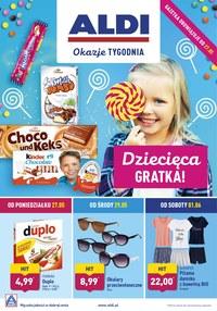 Gazetka promocyjna Aldi - Dziecięca gratka!  - ważna do 01-06-2019