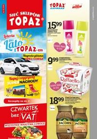 Gazetka promocyjna Topaz - Gazetka promocyjna - ważna do 29-05-2019