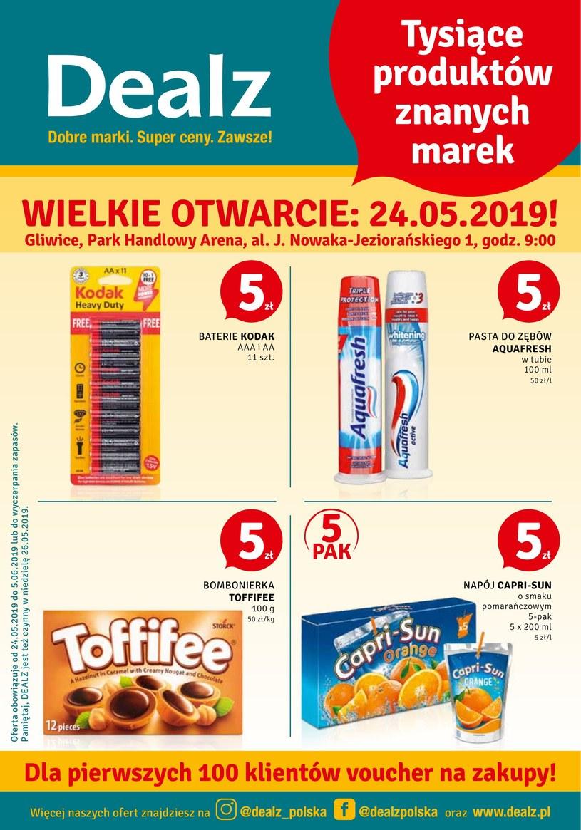 Gazetka promocyjna Dealz - ważna od 24. 05. 2019 do 05. 06. 2019