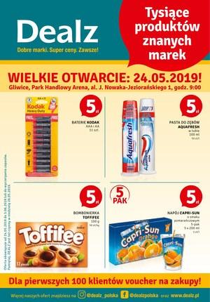 Gazetka promocyjna Dealz - Wielkie otwarcie - Gliwice