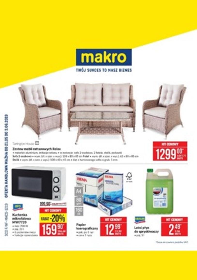 Gazetka promocyjna Makro Cash&Carry - ważna od 21. 05. 2019 do 03. 06. 2019