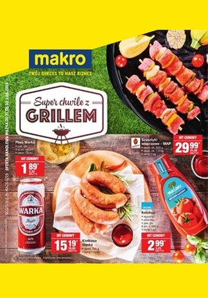Gazetka promocyjna Makro Cash&Carry - Grill & Chill