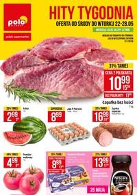 Gazetka promocyjna POLOmarket - Hity tygodnia  - ważna do 28-05-2019