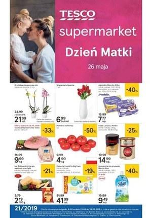 Gazetka promocyjna Tesco Supermarket - Dzień Matki - supermarket