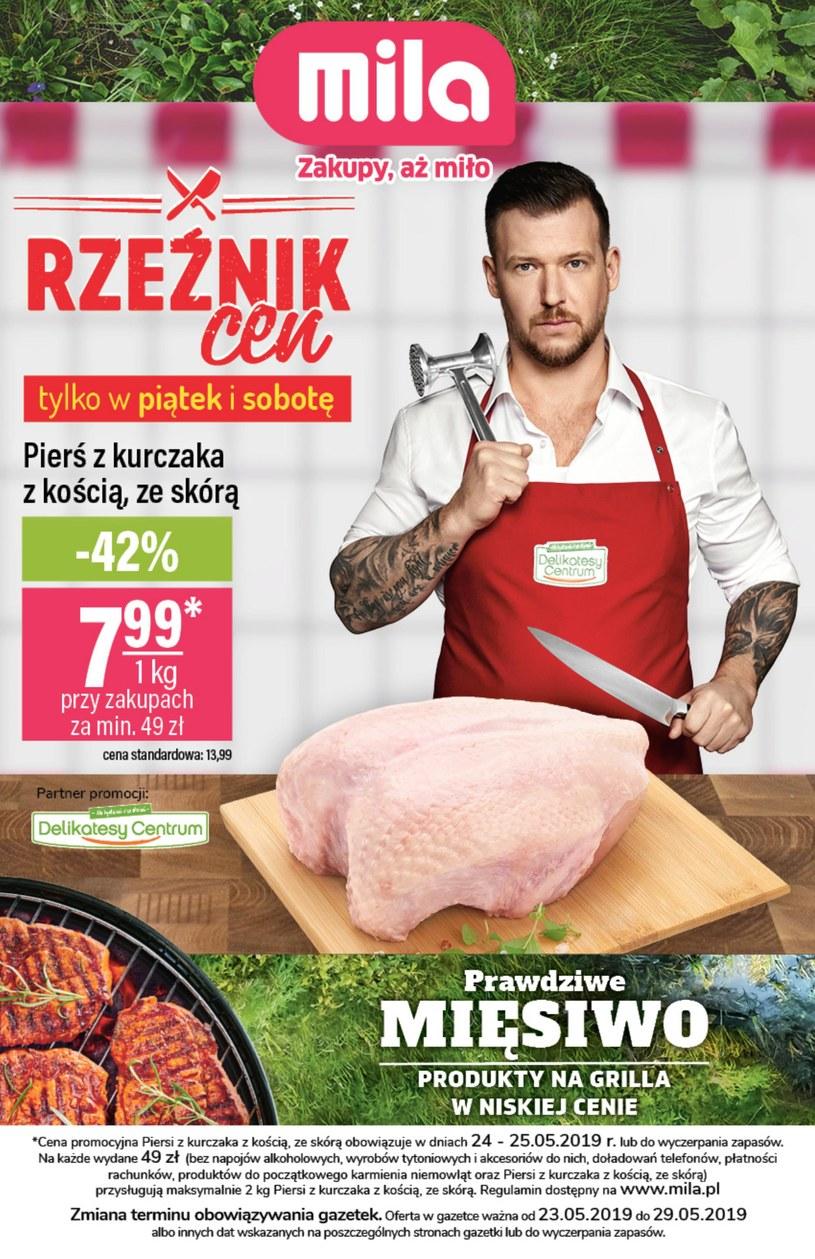 Gazetka promocyjna MILA - ważna od 23. 05. 2019 do 29. 05. 2019