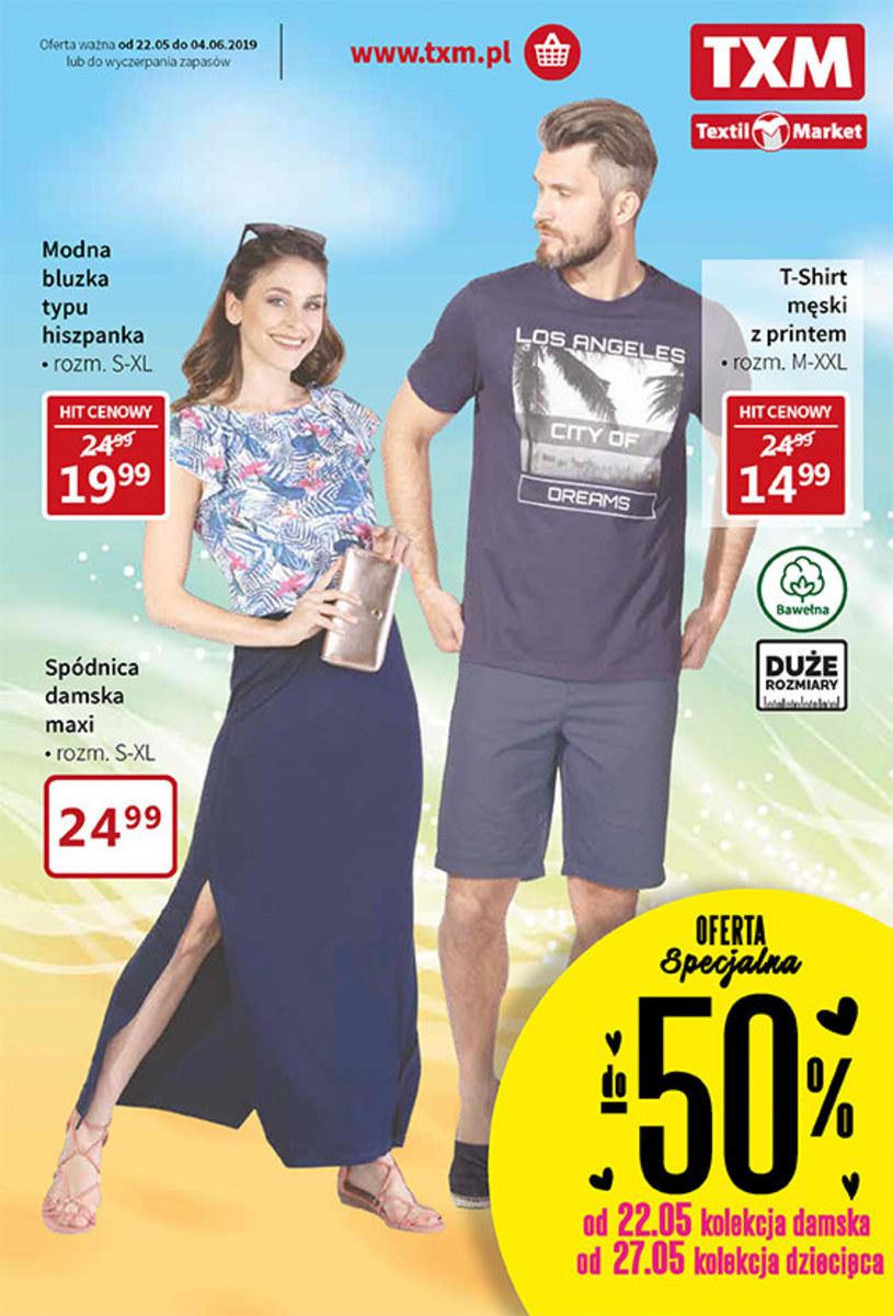 Gazetka promocyjna Textil Market - ważna od 22. 05. 2019 do 04. 06. 2019
