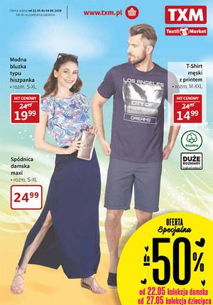 Gazetka promocyjna Textil Market, ważna od 22.05.2019 do 04.06.2019.