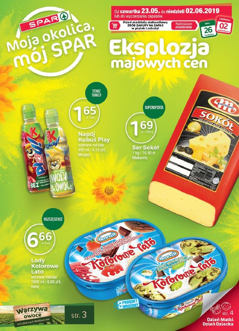 Gazetka promocyjna SPAR - ważna od 23. 05. 2019 do 02. 06. 2019