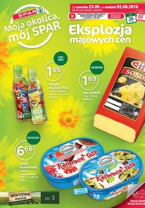 Gazetka promocyjna SPAR - Eksplozja majowych cen